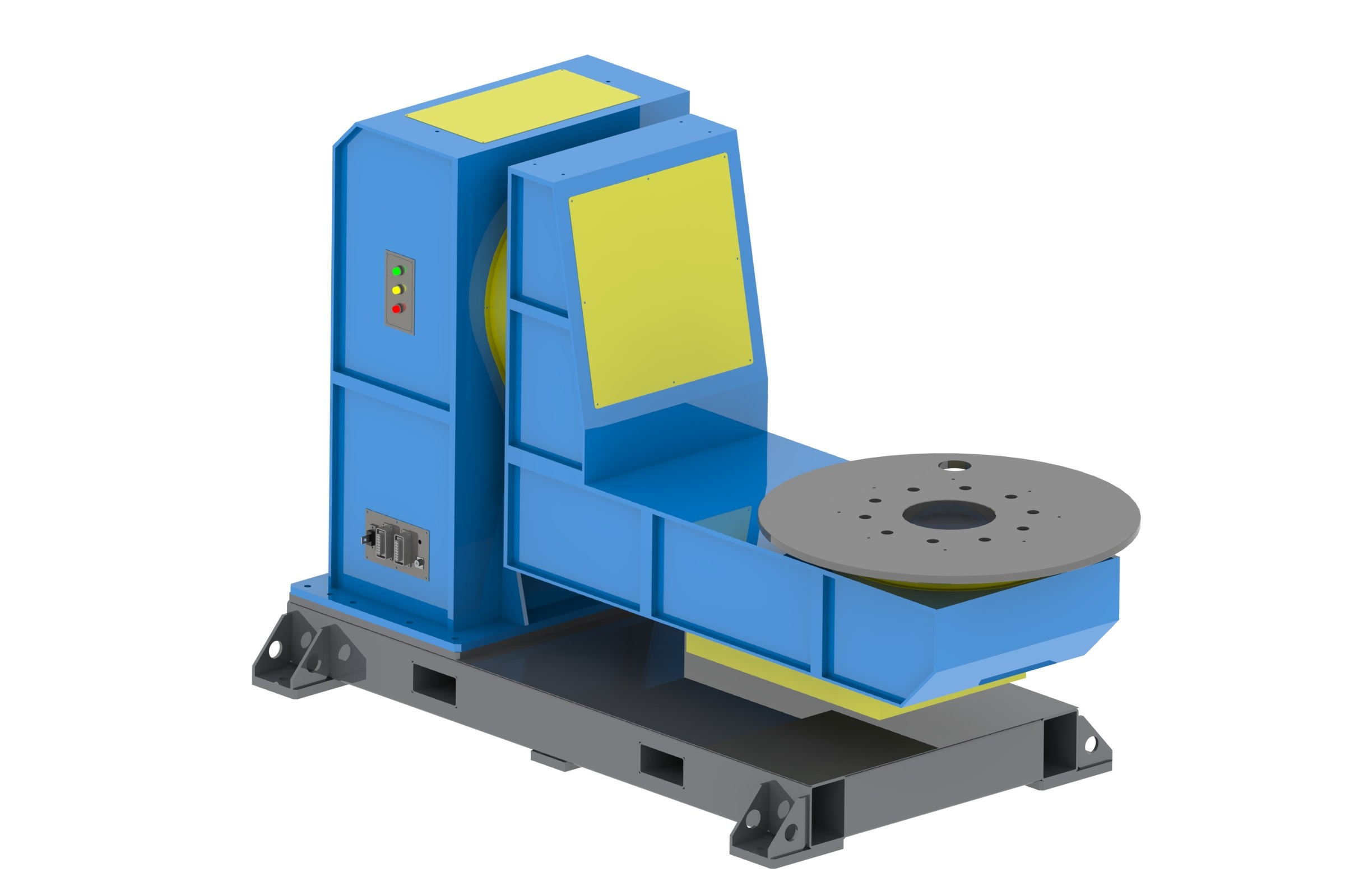 L Type Two Axis Welding Positioner