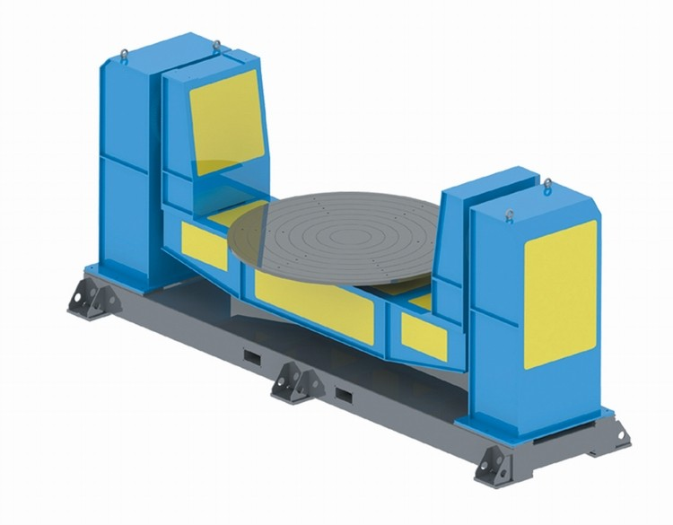 U Type Two Axis Welding Positioner